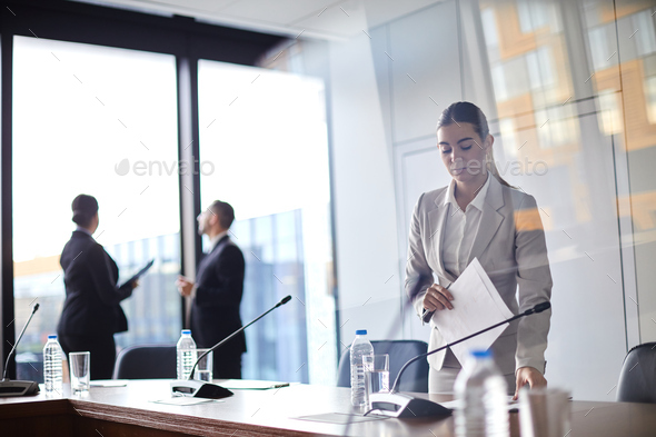Before conference - Stock Photo - Images