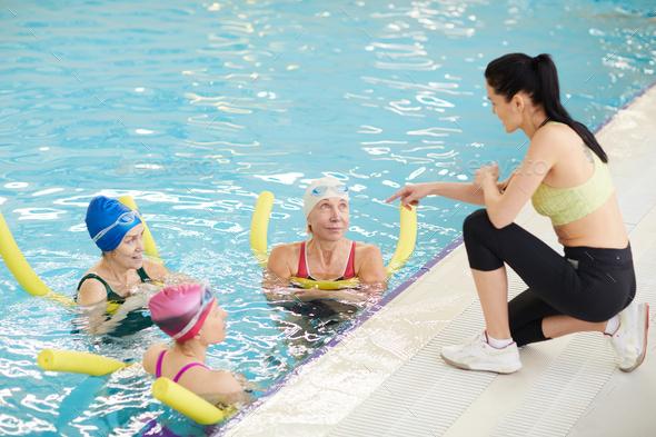 Aqua Fitness Training - Stock Photo - Images
