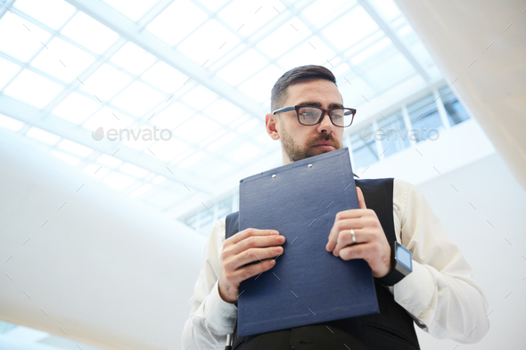 Troubled businessman - Stock Photo - Images