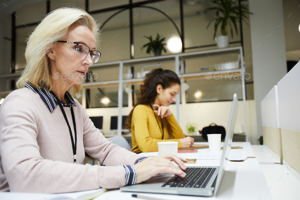Busy staff in office - Stock Photo - Images