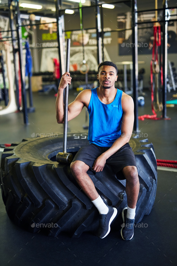 Sports trainer - Stock Photo - Images