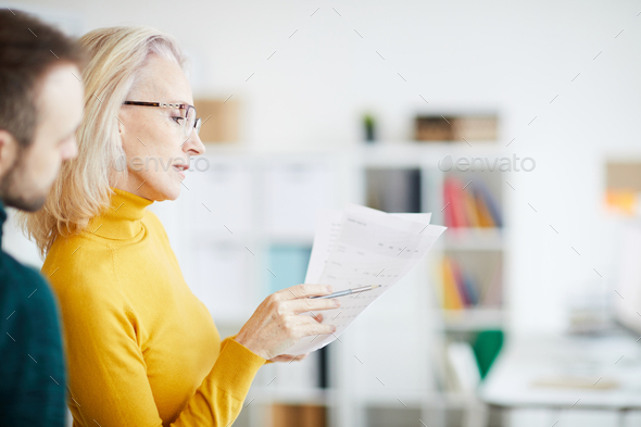 Businesswoman Planning Strategy - Stock Photo - Images