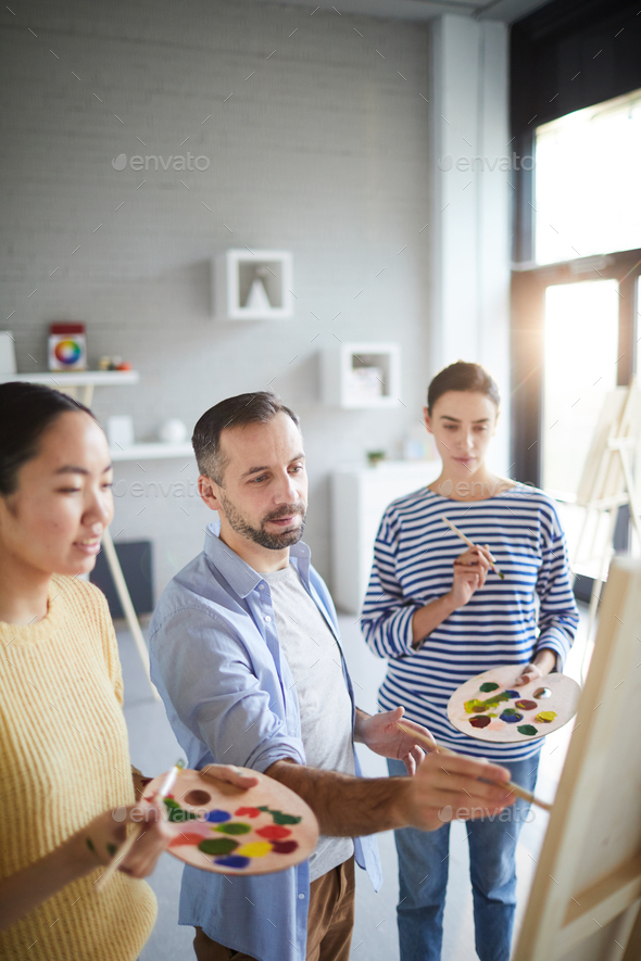 Professional painting - Stock Photo - Images
