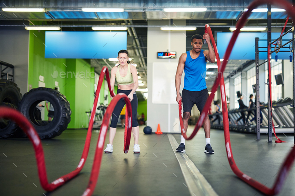 Athletes training - Stock Photo - Images