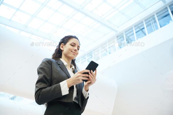 Reading notification - Stock Photo - Images