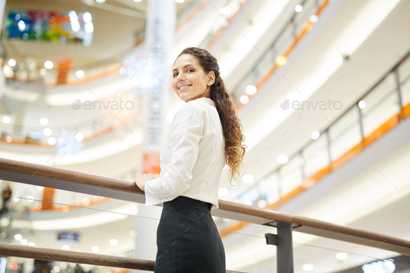 Woman in the mall - Stock Photo - Images