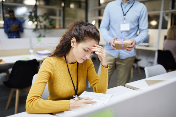 Tired from work - Stock Photo - Images