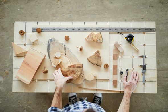 Carpenter at work - Stock Photo - Images