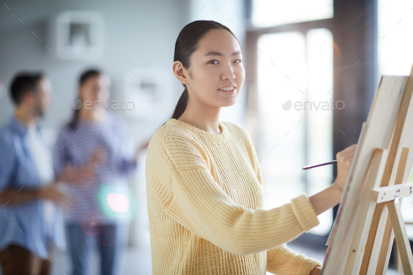 Painting class - Stock Photo - Images