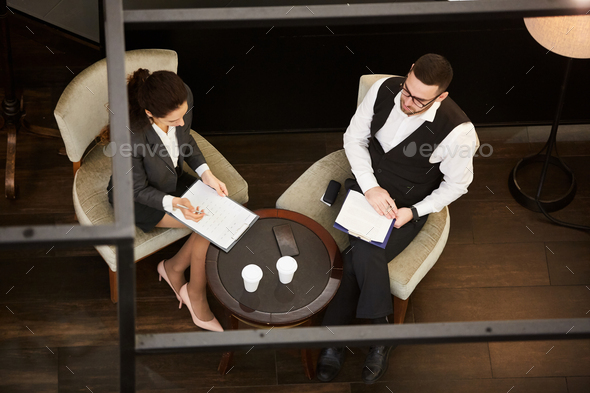 Partners negotiating - Stock Photo - Images