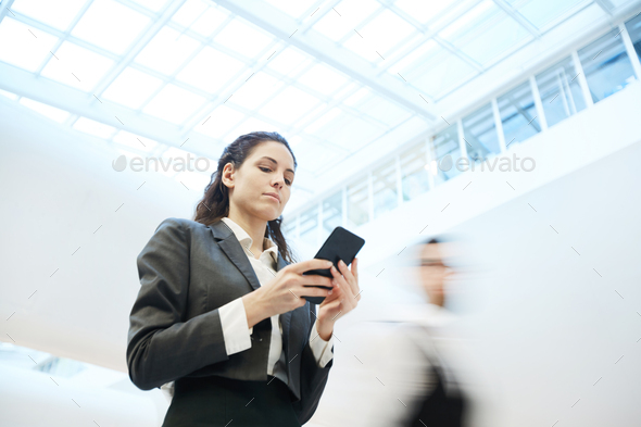 Thinking over message - Stock Photo - Images