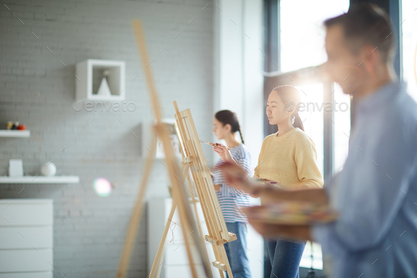 Painting individually - Stock Photo - Images