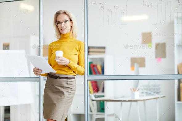 Mature Female Boss - Stock Photo - Images