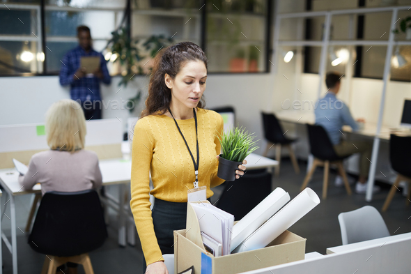 Fired employee - Stock Photo - Images