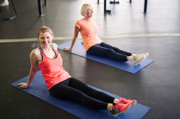 Woman exercising - Stock Photo - Images