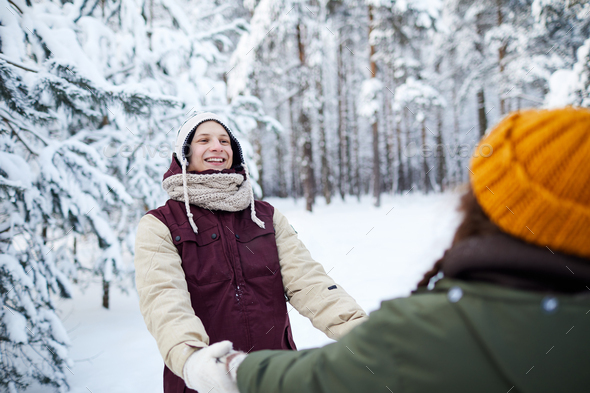 Winter Date - Stock Photo - Images