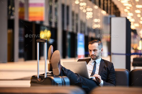 Networking in lounge - Stock Photo - Images