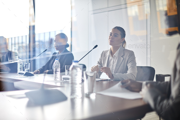 Making business report - Stock Photo - Images