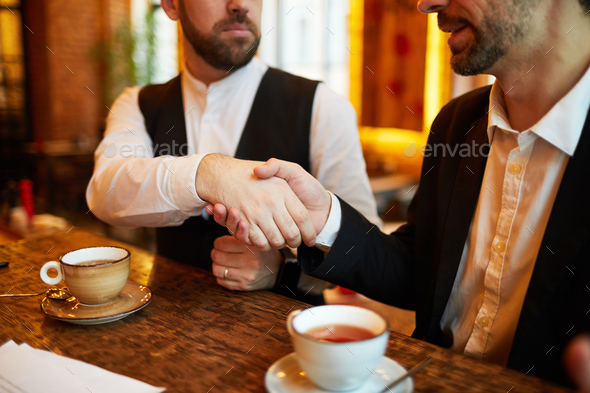 Deal in Restaurant - Stock Photo - Images