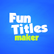 Fun Titles Constructor - VideoHive Item for Sale