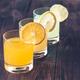 Assortment of citrus juices - PhotoDune Item for Sale