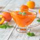 Glass vase of apricot jam - PhotoDune Item for Sale