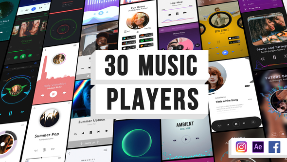 Music Visualization Players for Instagram Story Download