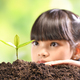 ํYoung plant and Girl - PhotoDune Item for Sale