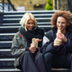 Happy couple eating Doner kebab, shawarma, in Camden Town - PhotoDune Item for Sale
