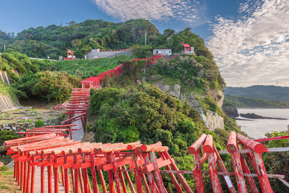 Motonosumi Shrine, Japan - Stock Photo - Images