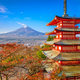 Mt. Fuji, Japan from Chureito Pagoda - PhotoDune Item for Sale