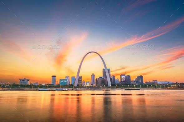 St. Louis, Missouri, USA - Stock Photo - Images