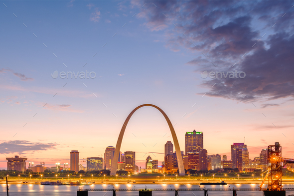 St. Louis, Missouri, USA - Stock Photo - Images
