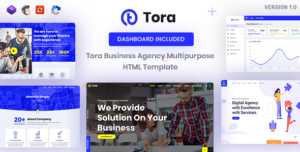Tora : Corporate Business HTML Template by ThemeTrades