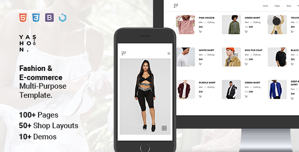 Yashon — Fashion & E-Commerce Multi-Purpose Template