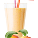 Glass of apricot smoothie or yogurt with apricots - PhotoDune Item for Sale