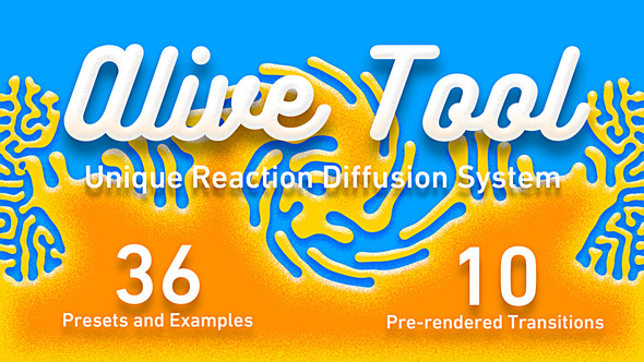 Alive Tool: Reaction Diffusion Download