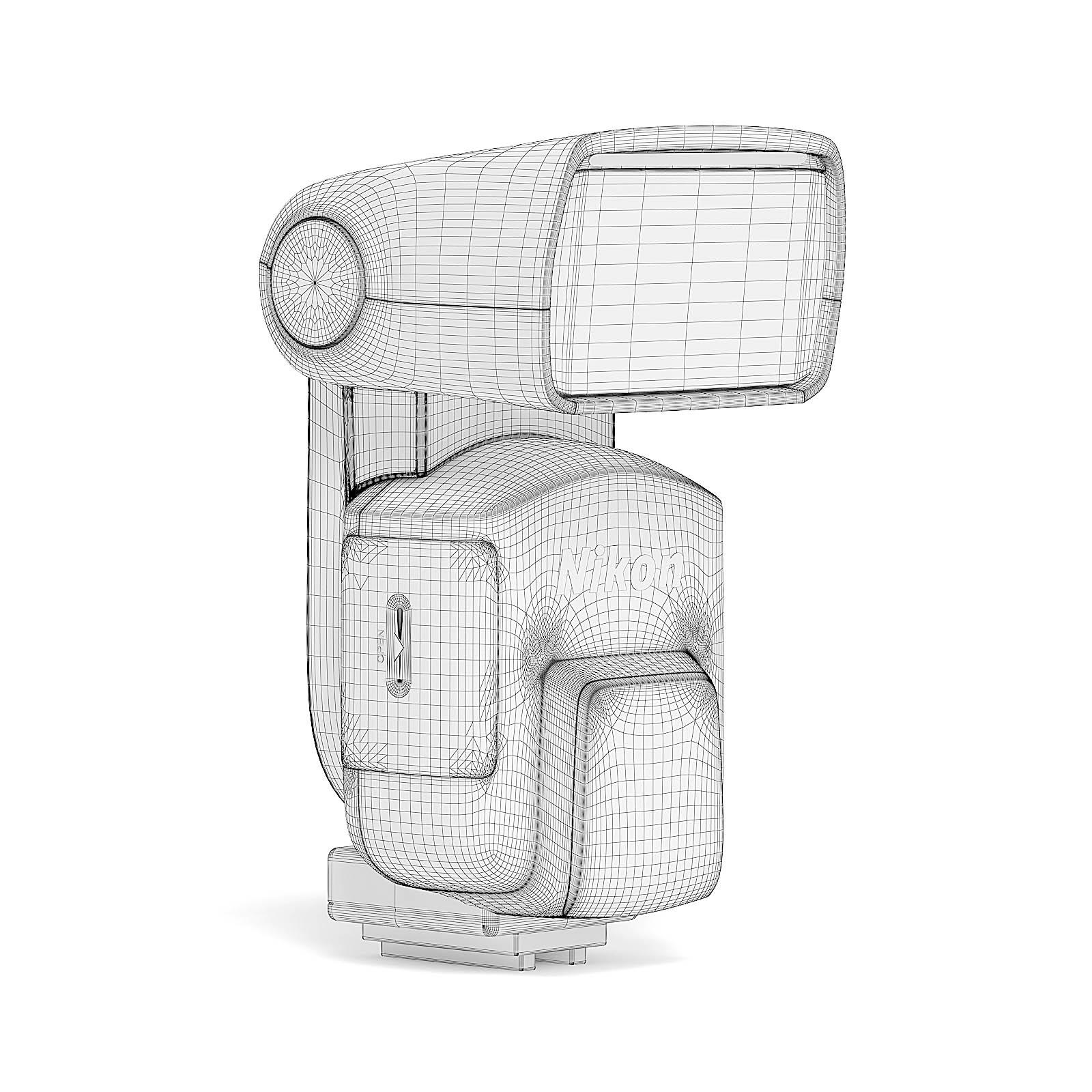 Camera Flash Lamp 3D Model