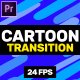 Cartoon Transition // MOGRT - VideoHive Item for Sale