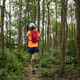Ultramarathon runner running in tropical rainforest - PhotoDune Item for Sale