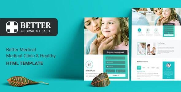 BetterX - Medical Clinic HTML Template