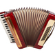 Retro accordion isolated - PhotoDune Item for Sale