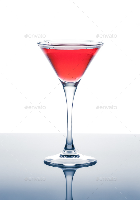 classic contemporary cocktail - Stock Photo - Images