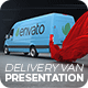 Delivery Van Presentation - VideoHive Item for Sale