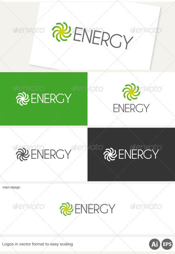 Energy Logo - Nature Logo Templates