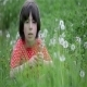 Girl And Dandelions 7 - VideoHive Item for Sale