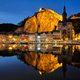 Night view of Dinant town, Belgium - PhotoDune Item for Sale