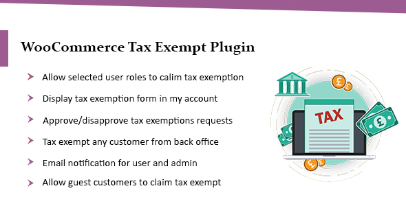 WooCommerce Tax Exempt Plugin