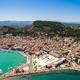 Aerial  view of Zakynthos city in  Zante island, in Greece - PhotoDune Item for Sale