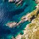 Aerial  view of Porto limnionas beach in Zakynthos (Zante) islan - PhotoDune Item for Sale